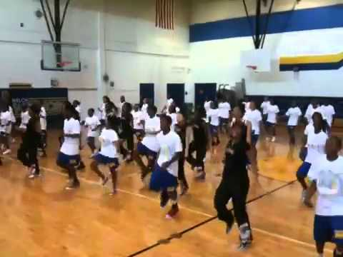 Beyonce' Let's Move Flash Video Plea From Welch Middle School video
