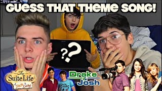 GUESS THAT THEME SONG CHALLENGE! ft. Mario Selman