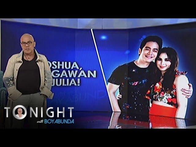 TWBA: Joshua confirms that he is courting Julia!
