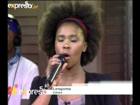 Zahara - Lengoma - Live With Dj Sbu (18.04.2012) video