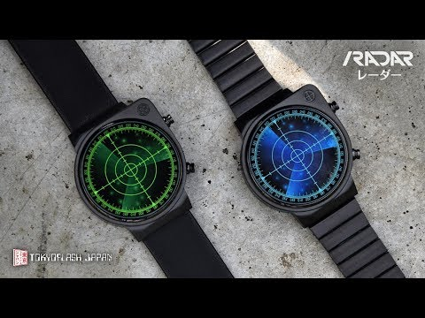 Radar LED Watch | Tokyoflash Japan
