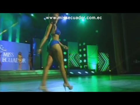 Desfile en Traje de Baño - Miss Ecuador 2014