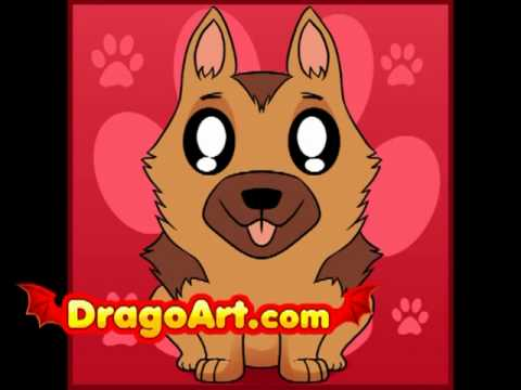 how to draw a puppy step by step dragoart