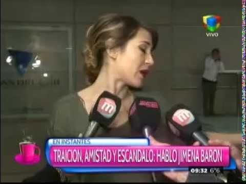 """Jimena Barón está esperando: """"Quiero escuchar qué me dice Gianinna"""""""