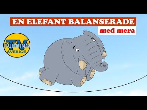 En elefant balanserade - med mera | Svenska barnsånger