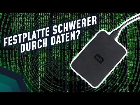 Festplatte schwerer durch Daten? | Breaking Lab