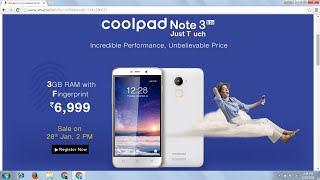 SCRIPT TO BUY COOLPAD NOTE 3 LITE SUCCESSFULLY IN AMAZON FLASH SALE [HINDI]