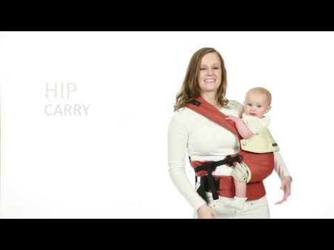 lillebaby COMPLETE Baby Carrier - Hip Carry Instructions
