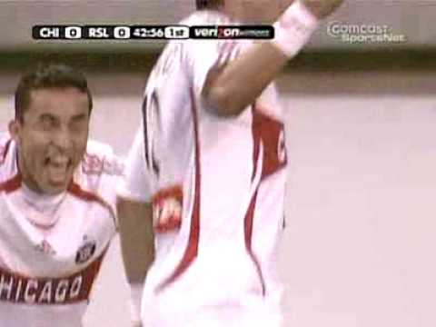 Golazo de Cuauhtemoc Blanco con el Chicago Fire Video