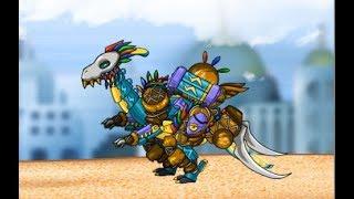 Combine Dino Robot Lightning Parasau (Роботы Динозавры: Собирать Парейазавра) - прохождение игры