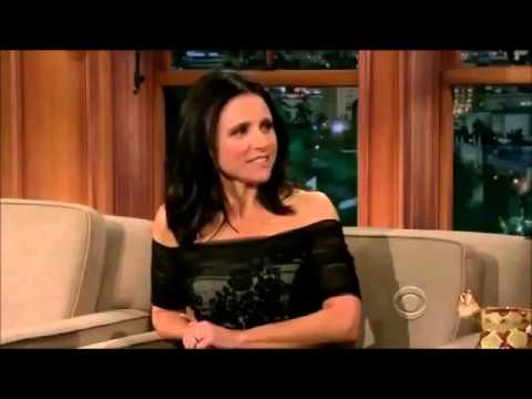 Julia Louis-Dreyfus on Craig Ferguson 27 September, 2013 - Full Interview