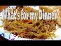 What's for Dinner for 1 or 2 using Broccoli Slaw in Ninja Foodi or Instant Pot