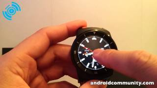 LG G Watch R hands-on