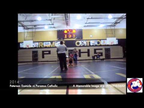 Paterson Eastide High School Vs Paramus Catholic High School - 01/10/2014
