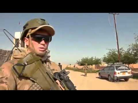 Talking to the troops in Afghanistan