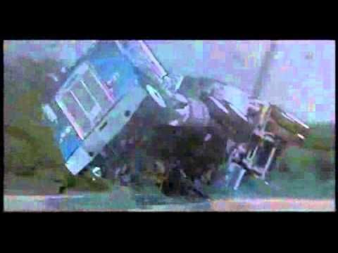 Tractor Trailer Caught in Tornado