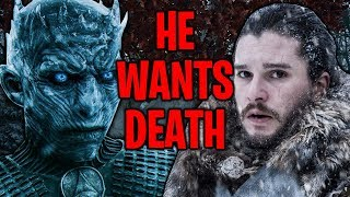 LEAKED! The Night King's Motivation Revealed By The Showrunners ! | Game of Thrones Season 8
