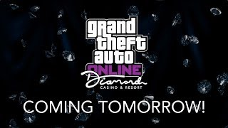 GTA ONLINE NEW DIAMOND CASINO & RESORT DLC COMING TOMORROW + THE DIAMOND PROGRAM