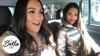 JIMMY FALLON, HERE WE COME! Nikki and Brie fight NYC traffic for TV appearances!