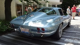 1963 Chevrolet Chevy Corvette Stingray Split Window & Start Up on My Car Story with Lou Costabile