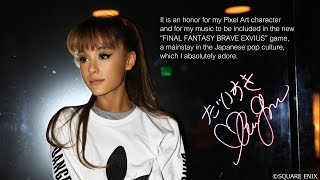 Ariana Grande – Touch It - FINAL FANTASY BRAVE EXVIUS Remix || Music Video Announcement
