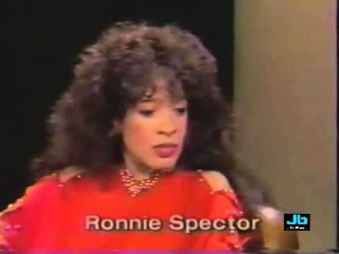 Ronnie Spector  - Be My Baby plus interview (Letterman Show - 1983)