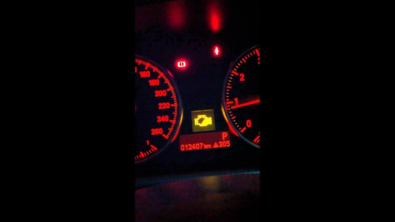 Clear Check Engine Light >> 2009 E90 LCI 323i Engine Light - YouTube