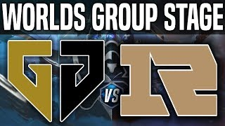 GEN vs RNG - Worlds 2018 Group Stage Day 2 - Gen.G vs Royal Never Give Up - Worlds 2018 Group Stage