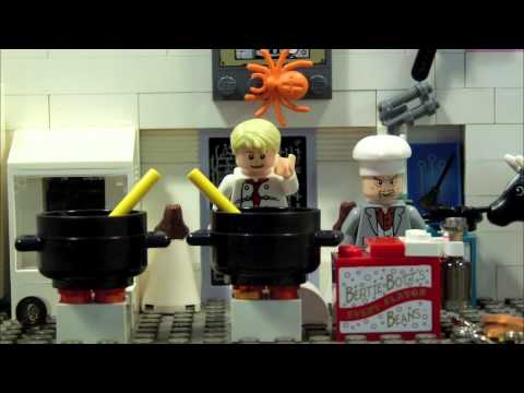 LEGO HARRY POTTER-COOKING WITH WORMTAIL AND JAMIE OLIVER