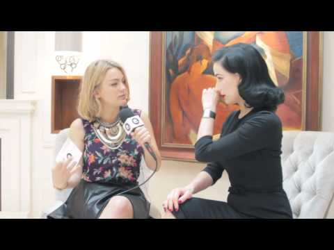 Dita Von Teese Talks London Fashion Week, Knickers And Her Style Inspiration