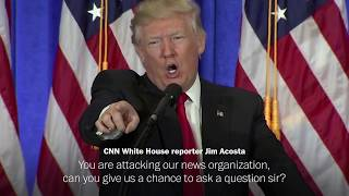 Trump ramps up his attacks on CNN after retraction