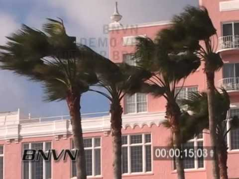 1/14/2006 Cold and Windy St. Petersburg FL Footage