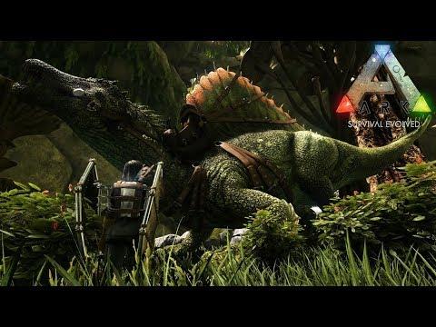 ついに!厳選Lv120スピノサウルスをテイム!【Aberration(アベレーション):part6】【ARK Survival Evolved】【公式PVE】 #1