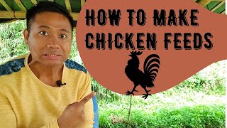 How to Make Chicken Feeds