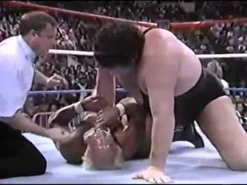 WWF The Main Event - Hulk Hogan vs Andre The Giant