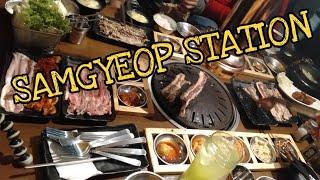 SAMGYEOP STATION DASMA // FoodVlog