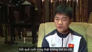 Lương Xuân Trường 'bắn' tiếng Anh như gió, tự tin trả lời phỏng vấn của AFC