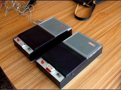 Philips Amp Norelco El 3300 Cassette Recorders 1964 Youtube