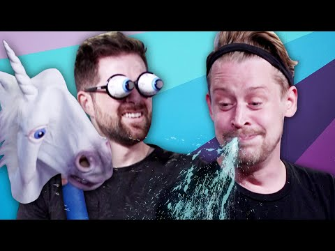 Try Not To Laugh Challenge #31 w/ Macaulay Culkin