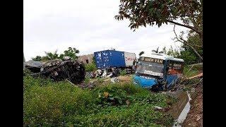 Camera ghi lại: Vụ TNGT thảm khốc xảy ra trên quốc lộ 39a, xã minh tân, Đông Hưng tỉnh Thái Bình