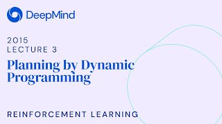 RL Course by David Silver - Lecture 3: Planning by Dynamic Programming