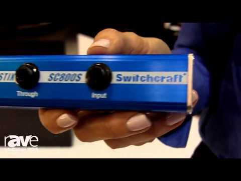 InfoComm 2015: Switchcraft Explains DI-STIX XLR Connector, the SC800S