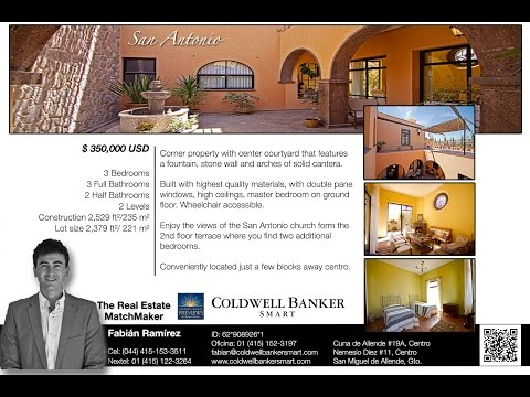 San Miguel de Allende Real Estate San Antonio