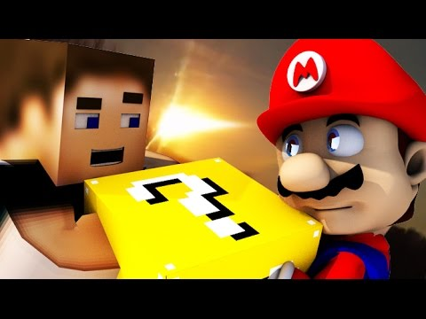 LUCKY BLOCK MARIO! [Microsoft Minecraft Animation Mod]