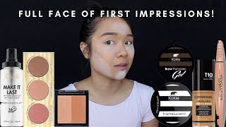 (Almost) Full Face of First Impressions + Wear Test | cakedbybabyk