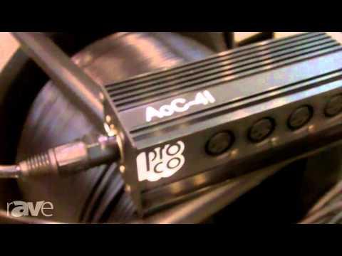InfoComm 2013: RapcoHorizon Showcases AOC Snake Cable