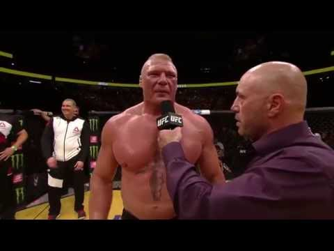 UFC 200: Brock Lesnar - Octagon Interview