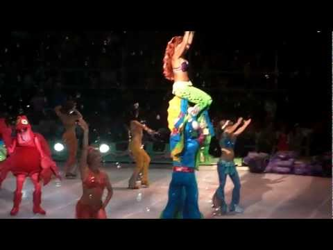 [HD] Disney On Ice, Costa Rica. La Sirenita (Bajo el Mar)
