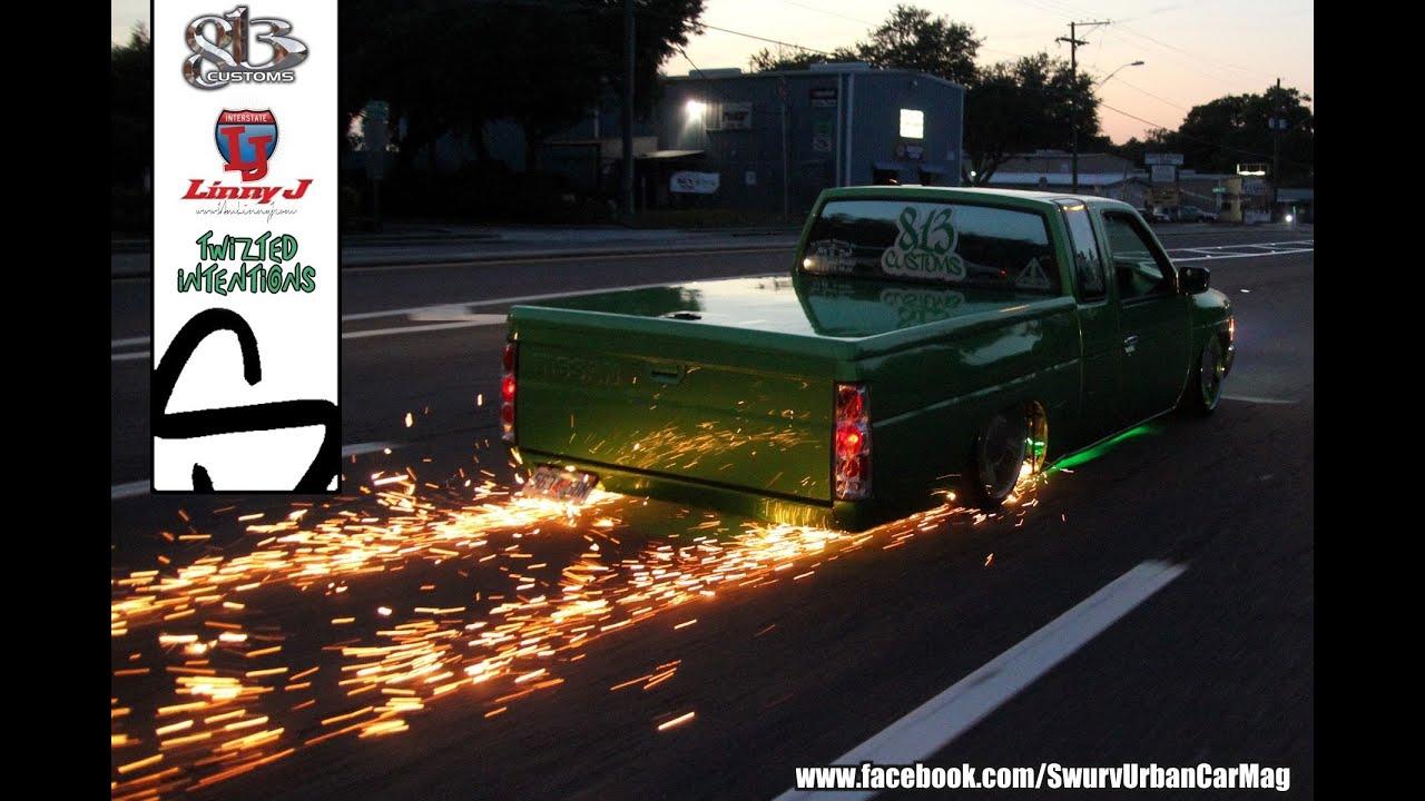 Quot The Mini Hulk Quot Slammed Nissan Hardbody Loaded W