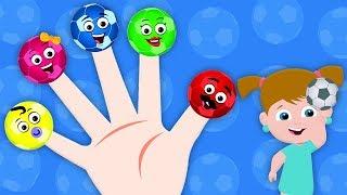 Bóng đá ngón tay gia đình | nhac thieu nhi hay | Soccer Finger Family | Umi Uzi Vietnam